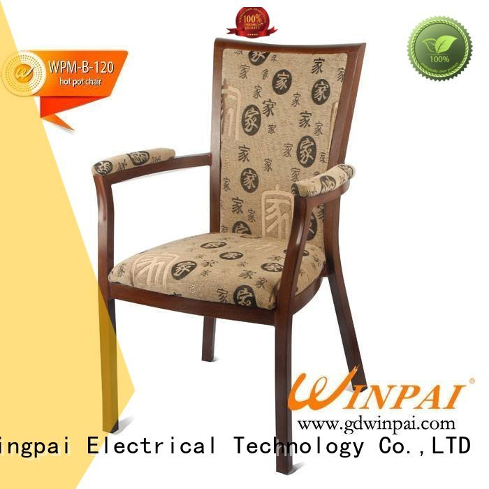 WINPAI high quality metal restaurant chairs series for living room