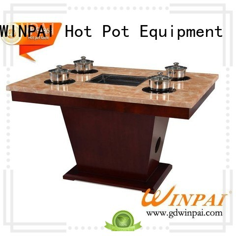 WINPAI New bar b que table company for cafes