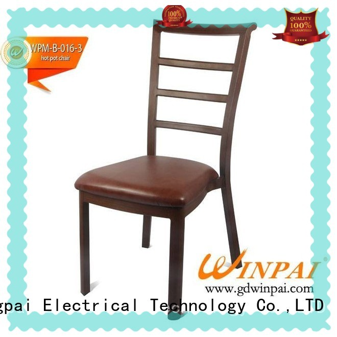 WINPAI chinese Metal hot pot chair series for home