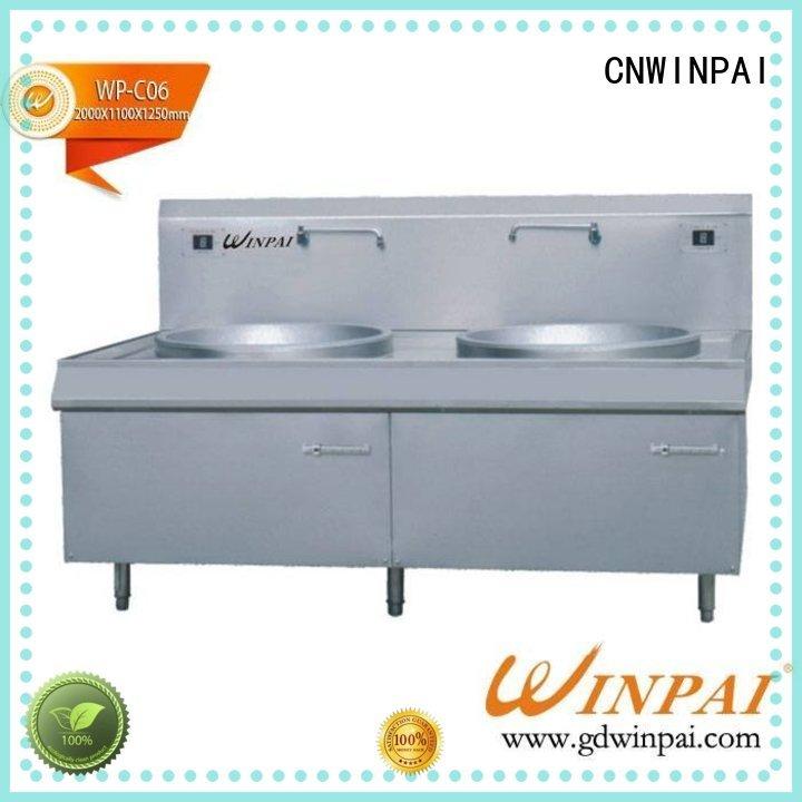 CNWINPAI Brand trendy base copper stock pot