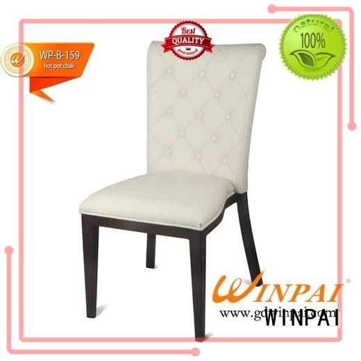 WINPAI aluminum mini metal chair supplier for dinning room