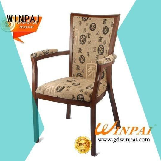 black restaurantktvbarwinpai banquet glass hot pot chair WINPAI Brand