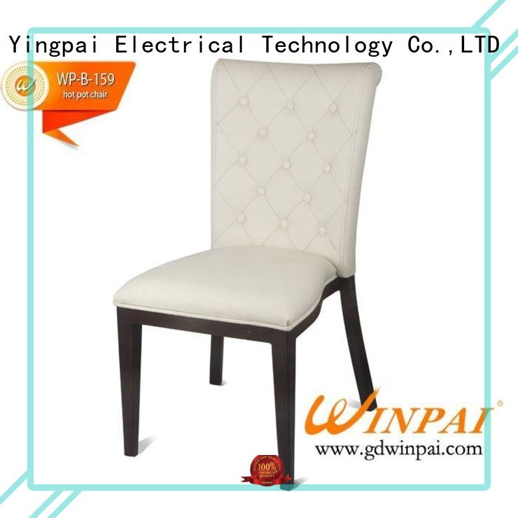 by metal restaurant chairs manufacturer for living room WINPAI