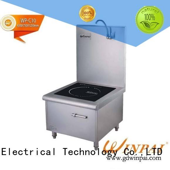 2015 WINPAI hot sale commercial induction soup boiler