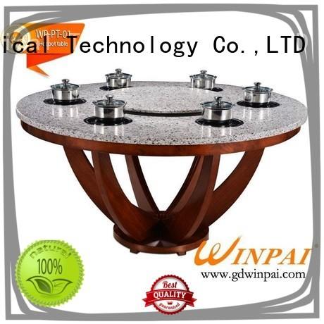 WINPAI high quality shabu pot design for cafe