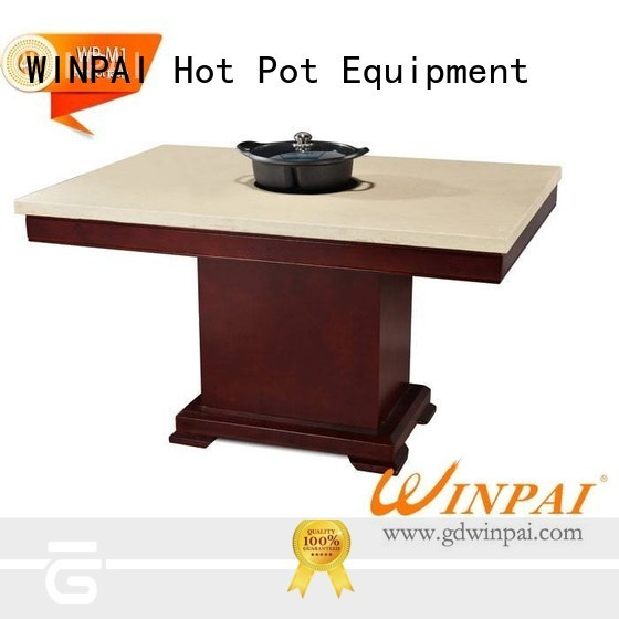 high efficiency shabu shabu pot frame manufacturer for cafe