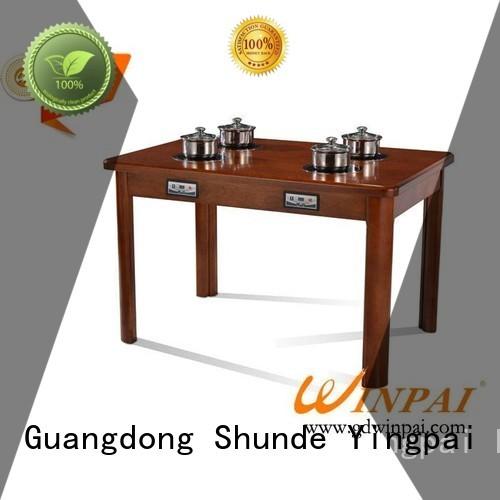 WINPAI safety shabu shabu pot series for hotpot city