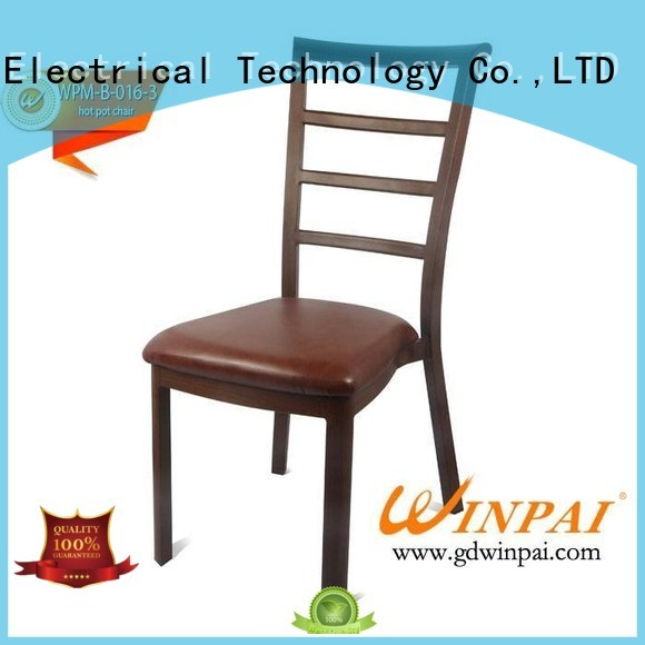 Wholesale taste round Metal hot pot chair CNWINPAI Brand