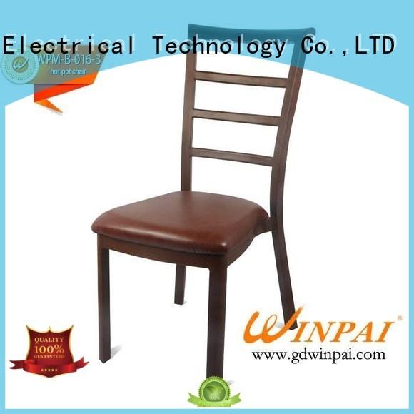 Wholesale taste round Metal hot pot chair CNWINPAI Brand