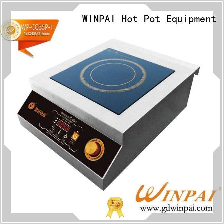 WINPAI round copper stock pot steel for indoor