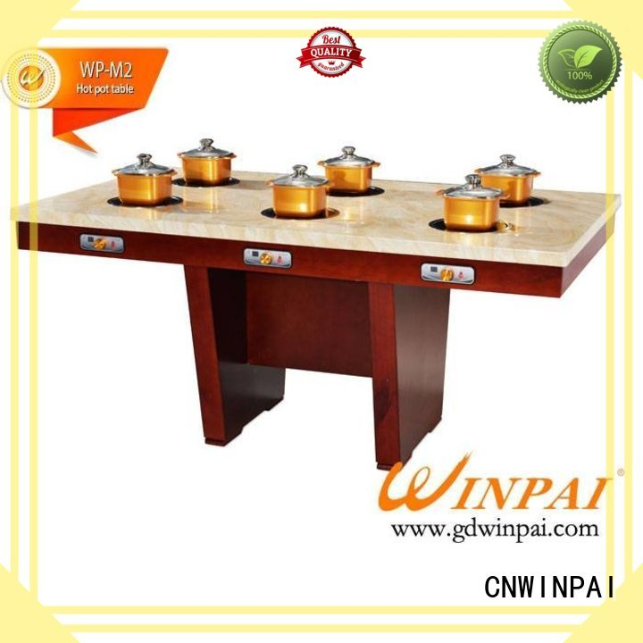CNWINPAI Brand dropin hot selling buffet shabu pot sideboard