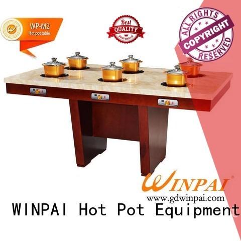 WINPAI smokeless asian hot pot soup Supply for cafe