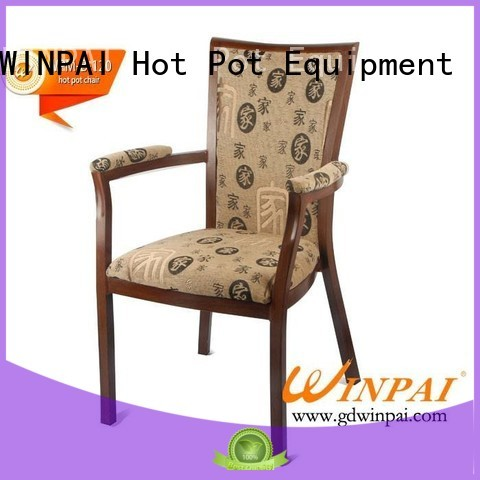 WINPAI high quality metal restaurant chairs wholesale for living room