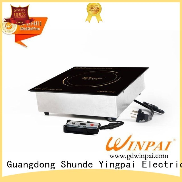 WINPAI electric full induction cooktop manufacturers for villa