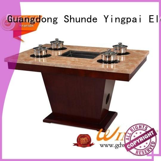 marble stove metallike CNWINPAI Brand korean bbq grill table