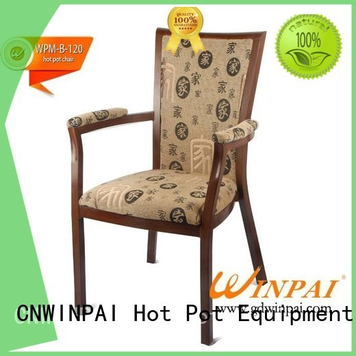 hot pot chair chinawinpai top selling Metal hot pot chair CNWINPAI Brand