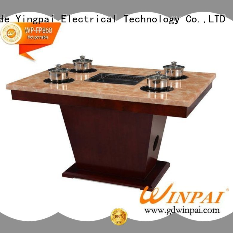 high efficiency shabu pot wholesale for cafe WINPAI