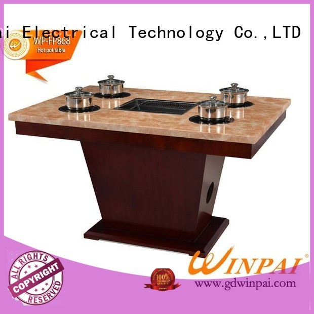 WINPAI professional hot pot plate wholesale for star hotel