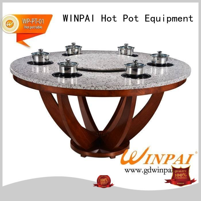WINPAI iron hot pot plate series for star hotel