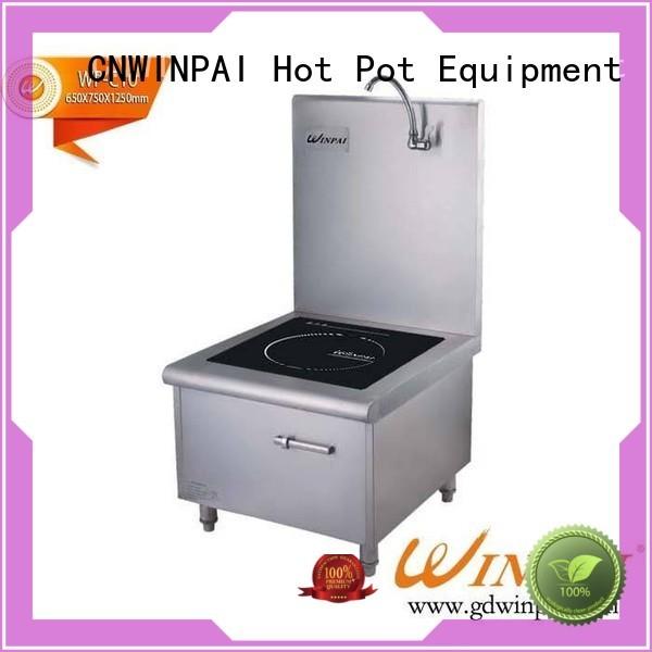 copper stock pot earswinpai hot pot cookware CNWINPAI Brand