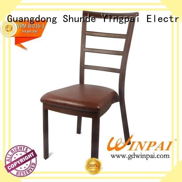 popular drinks popular WINPAI Brand Metal hot pot chair supplier