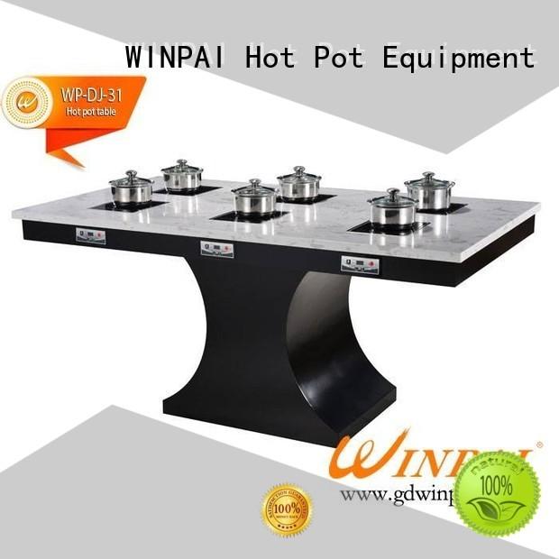 WINPAI popular chinese fondue pot factory for cafe