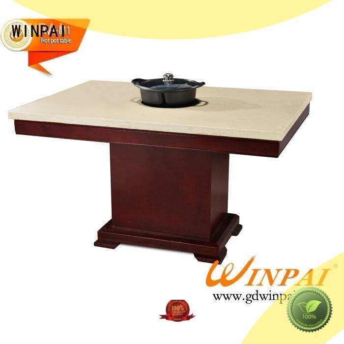 WINPAI series hot pot plate factory for cafe