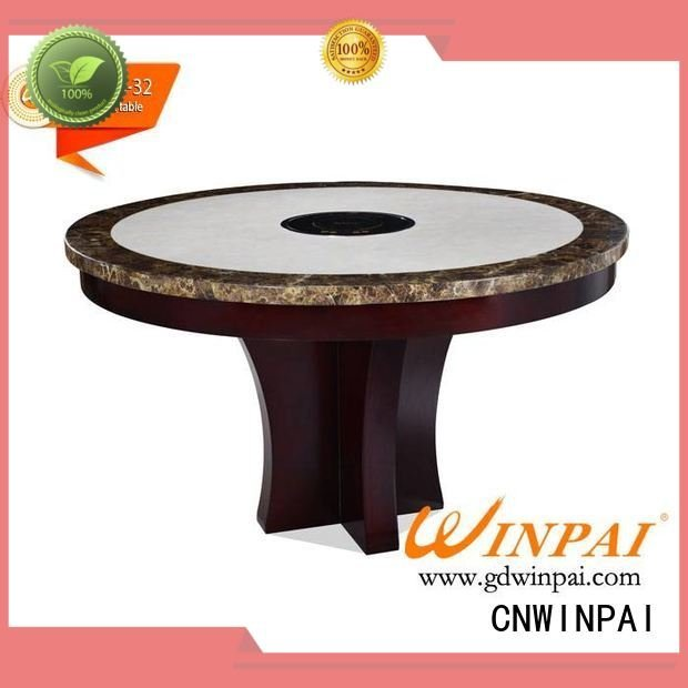 marble supplierwinpai grilled stainless CNWINPAI shabu pot