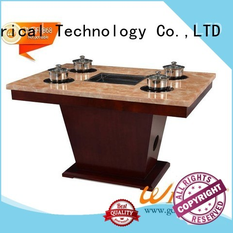 high quality hot pot table suppliers small Suppliers for restaurant