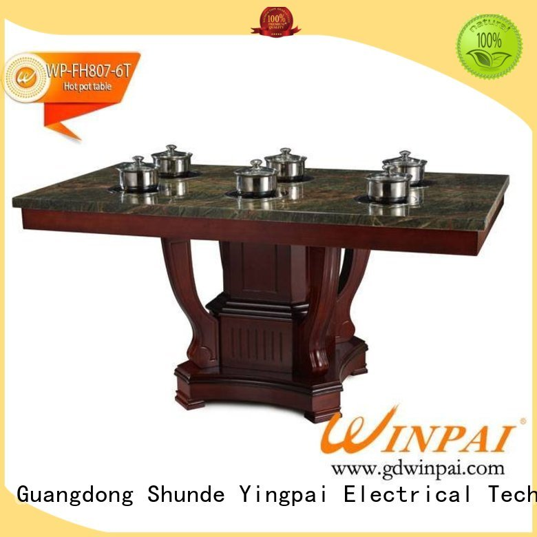 WINPAI Best chinese style hot pot company for star hotel