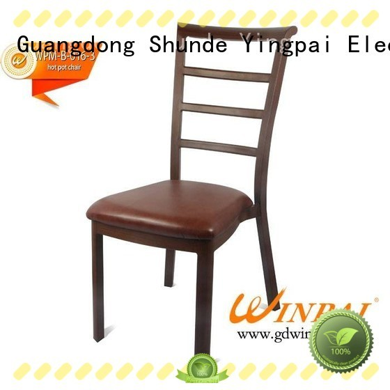 WINPAI safety metal restaurant chairs series for home