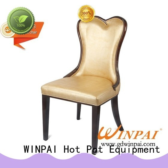 WINPAI durable narrow wooden chair company for living room