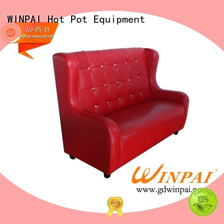 WINPAI Best made to measure bench manufacturers for restaurant