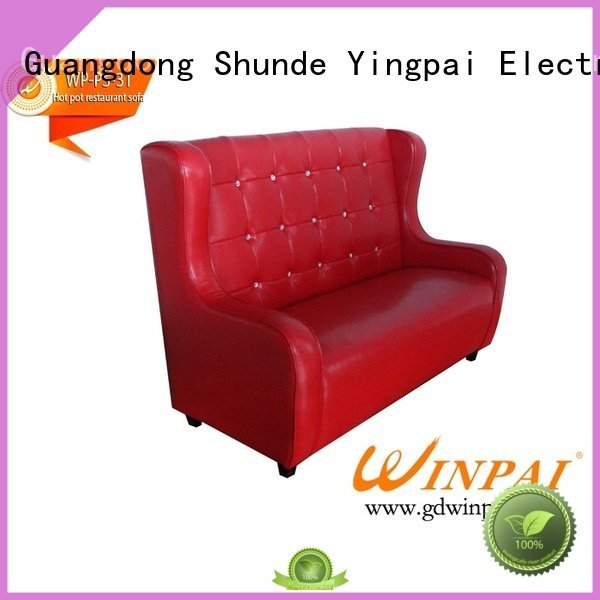 CNWINPAI Brand banquet restaurantktvbarwinpai Hot Pot Chair leather sofawinpai
