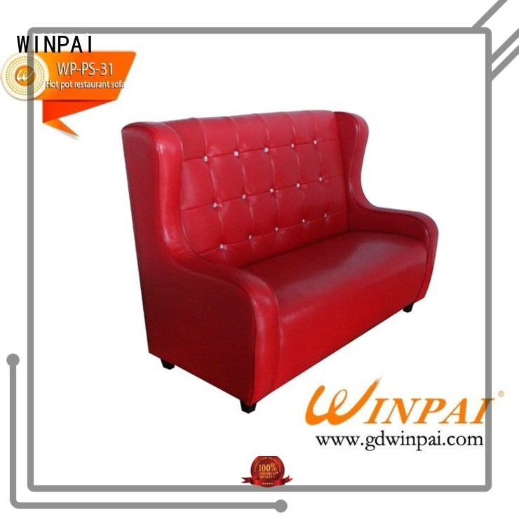 WINPAI safety sofa manufacturers wholesale for restaurant