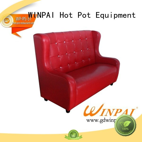 WINPAI store shop couch for restaurant