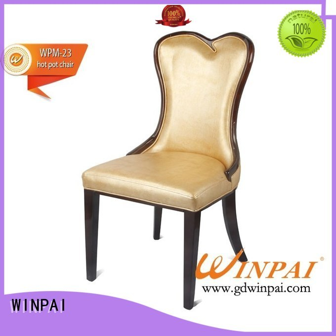 WINPAI professional wooden dining kitchen chairs Supply for indoor