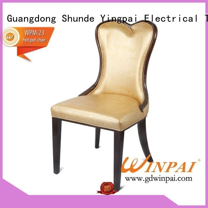 WINPAI chairs wooden dining chair supplier for home