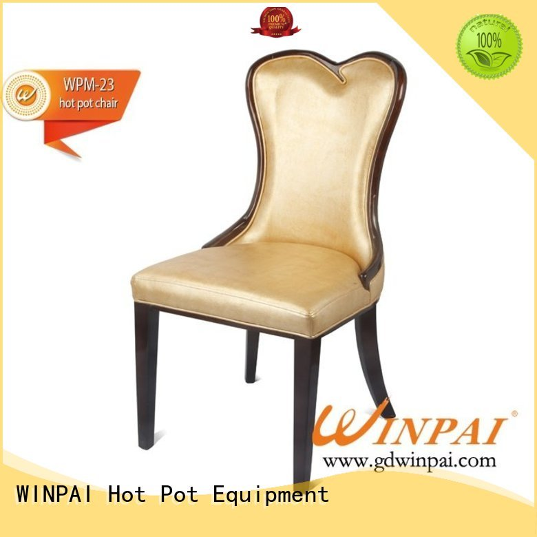 safetywooden hot pot chair north wholesale for dinning room