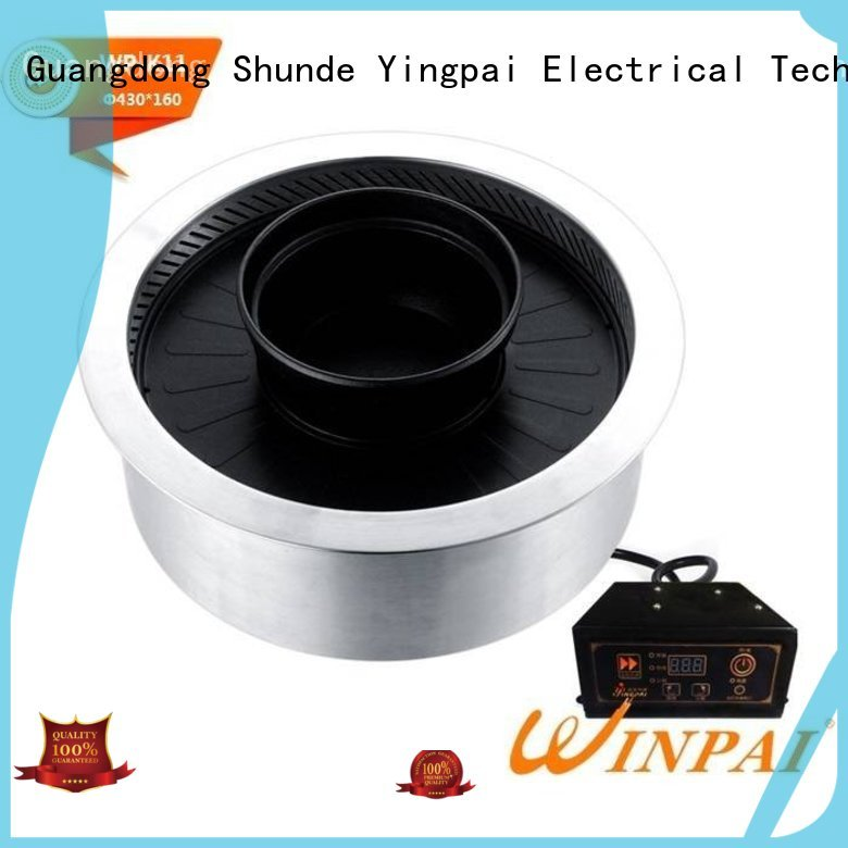 WINPAI korean outdoor electric grill manufacturer for home