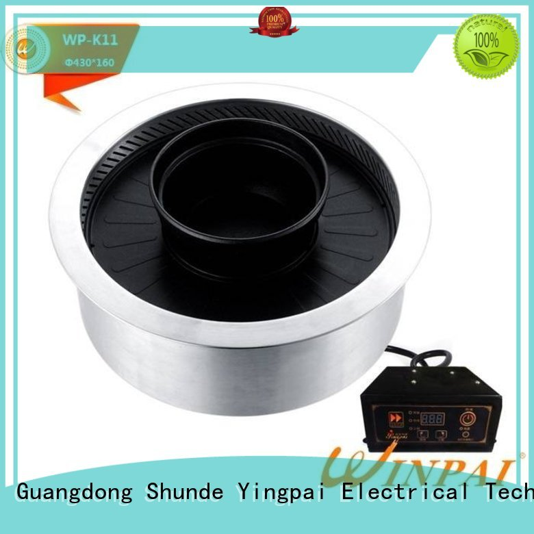 WINPAI smokeless electric bbq grill supplier for restaurant