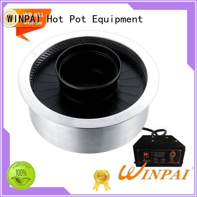 WINPAI barbecue outdoor electric grill manufacturer for villa