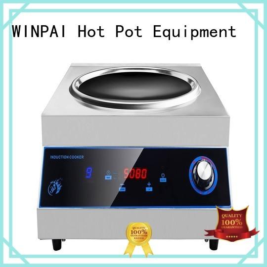 WINPAI electric hot pot accessories manufacturer for restaurant