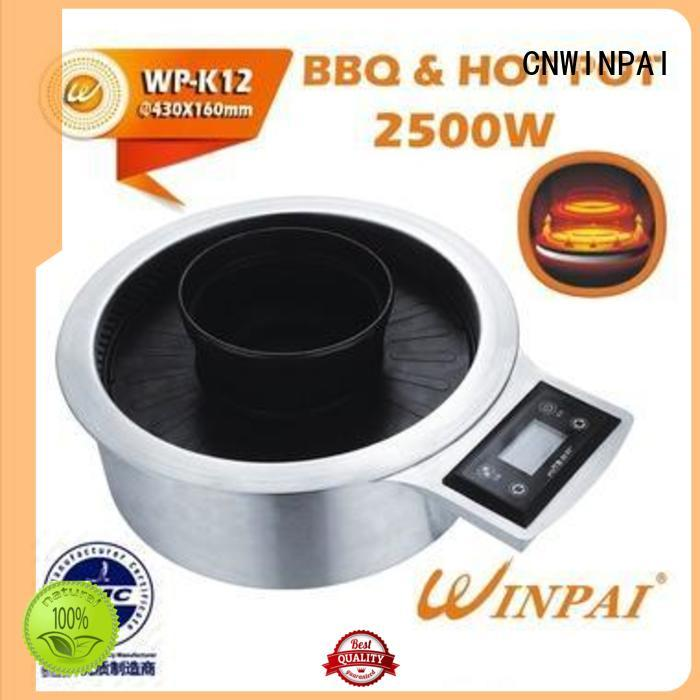 Hot Pot And BBQ Grill carwinpai two Warranty CNWINPAI