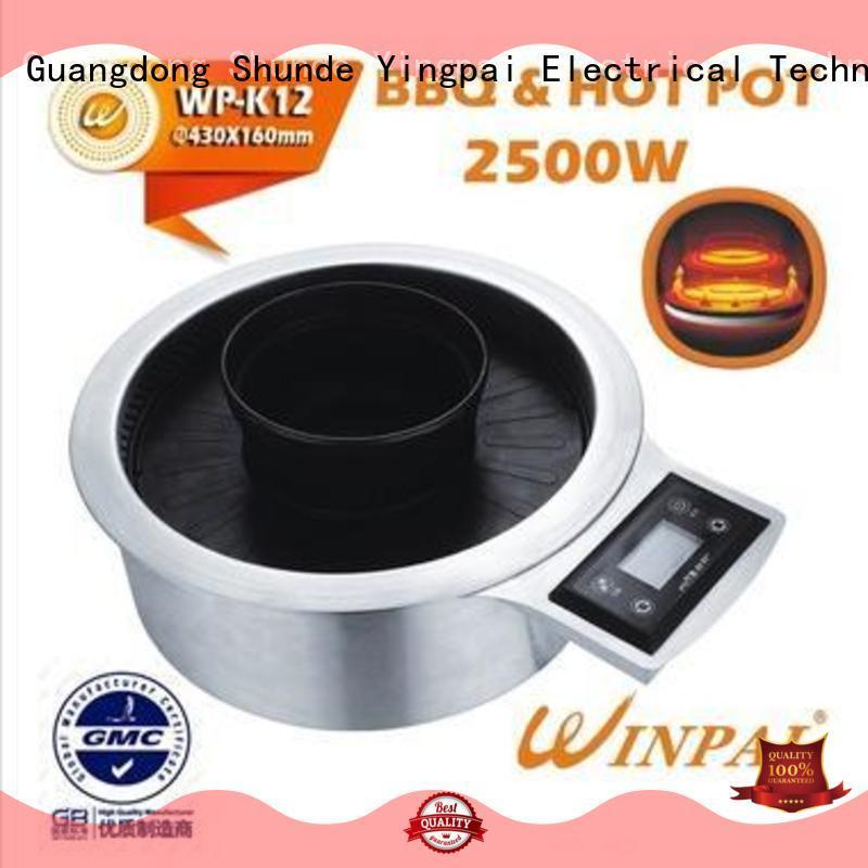 WINPAI burner mini gas barbecue grill with remote control for villa
