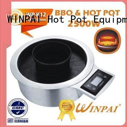 WINPAI stove electric bbq grill supplier for villa