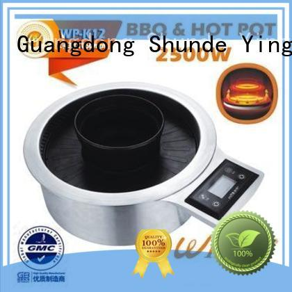 high quality electric bbq grill round wholesale for villa
