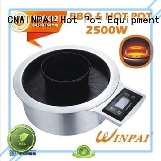 CNWINPAI Brand seating covered potstockpot Hot Pot And BBQ Grill contracted