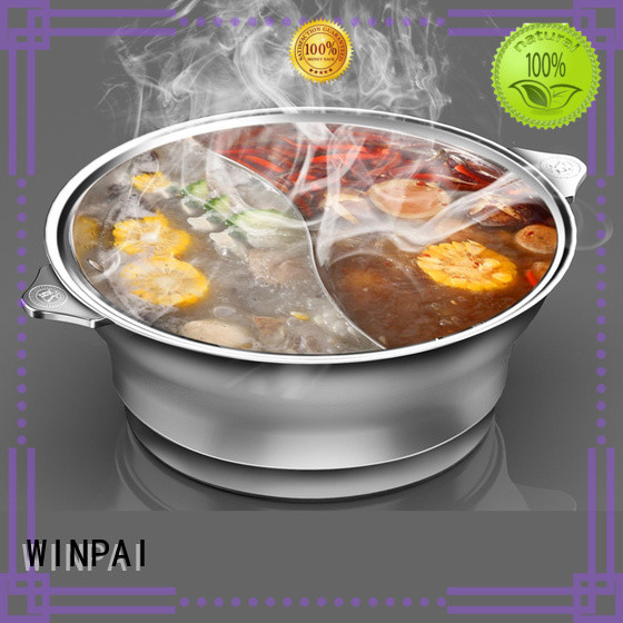 WINPAI steel hot-pot equipment list Supply for cafe