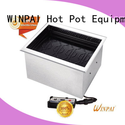 WINPAI wireless electric bbq grill manufacturer for restaurant